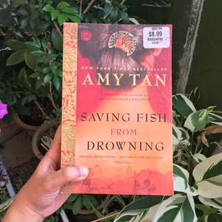 'Saving Fish from Drowning' by Amy Tan