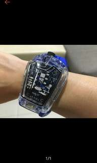(3weeks free delivery) Hublot Transparent Shell Big Bang Ferrari Watch