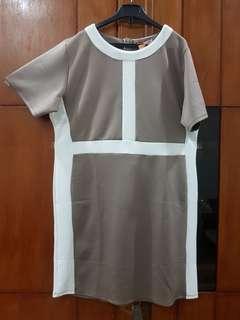 bigsize body dress
