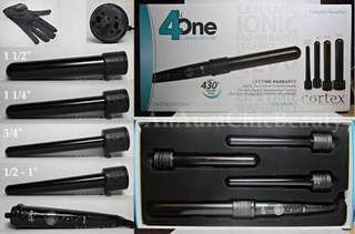 Cortex 4in1 curling iron