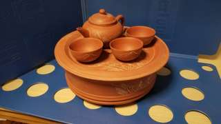 中國宜興手做紫沙茶具