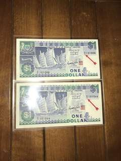 $1 Ship Z2 replacement note