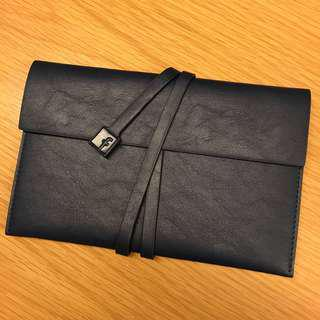 Facebook PU notebook stationary pouch