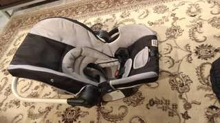 Baby Car Seat SCR7 with adapter