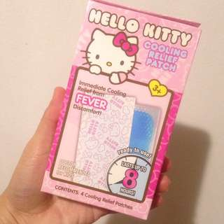 Hello Kitty Cooling Relief Patch
