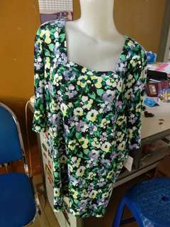 Blouse jumbo size floral