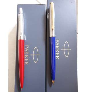 [包平郵]全新法國製 parker 原子筆