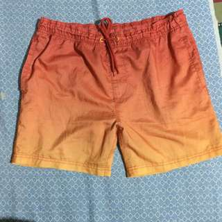 Orange Short Xs