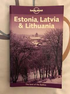 Lonely Planet : Estonia, Latvia & Lithuania- The Best of the Baltic's