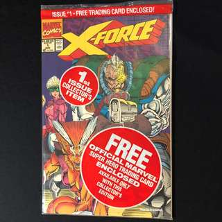 X-Force #1 Rob Liefeld art. Unopened in polybag