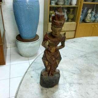 Wooden Statue Vintage 2