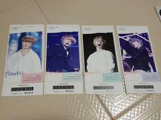 🚚 (wts) BTS Jimin fansite SERAPHIC exhibition ticket set
