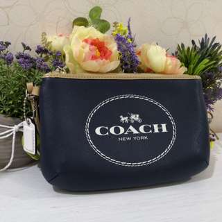 Coach Medium Leather Wristlet