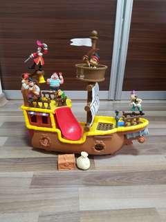 Preloved Fisherprice Jake and the Never Land Pirates Pirate Adventure Bucky