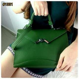 HIGH QUALITY Tas Fashion Wanita Murah Shoulder Sling Bag ORIGINAL BRAND Longstrap Dustbag Best Seller #1331