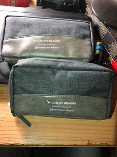 Cathay Pacific Business Class Amenity Kit 國泰商務客艙個人用品套裝