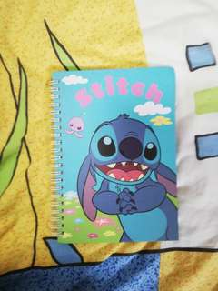 Stitch and Angel Notebook