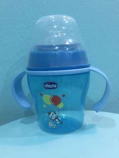 Baby training cup-bottle (Blue)