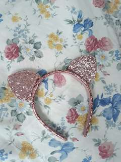 Preloved H&M Glittery Cat Ears Headband