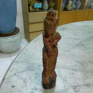 Wooden Statue Vintage 5