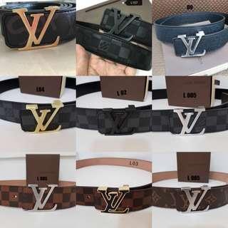 LV Hermes Gucci Versace Ferragamo Belt
