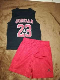 Jordan jersey set