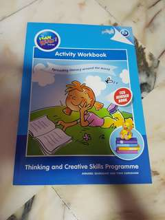 I Can Read Thinking & Creative Skills Programme Activity Book