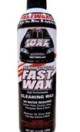 美國免水洗車臘Fast wax