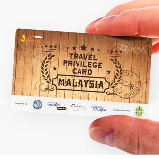 Travel Privilege Card for Malaysia's Attractions + Delivery to East and West Malaysia