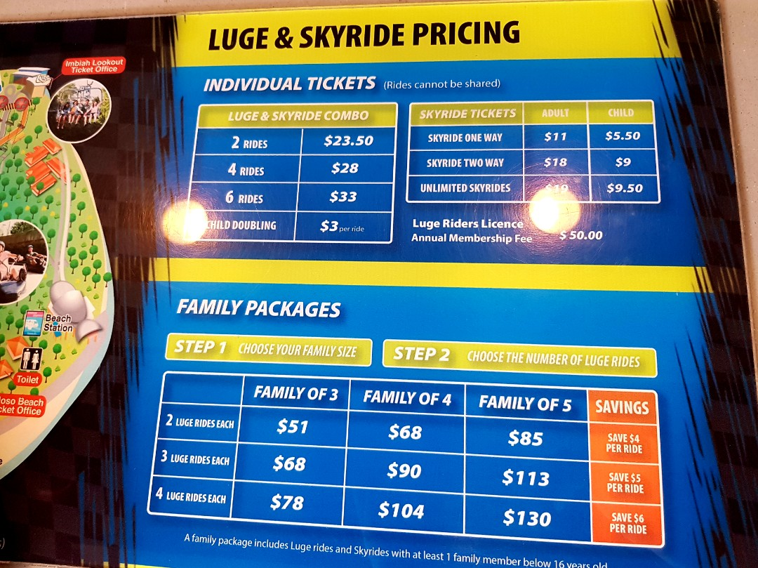 2 Rounds Sentosa Luge And Skyride Immediate Etickets 27 Off Ampamp Skyline Singapore 2x Entertainment Attractions On Carousell