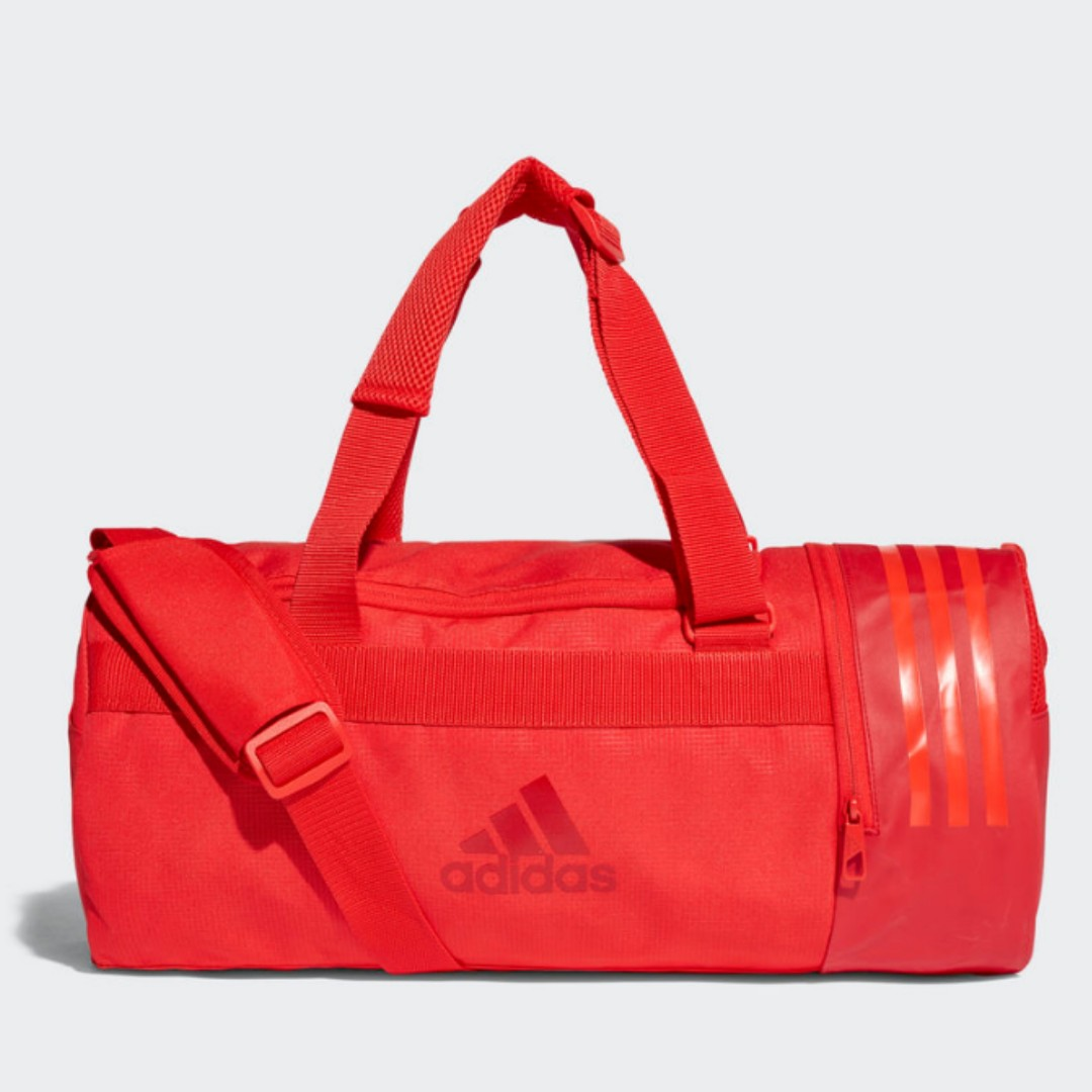 4e93cad1c9 Adidas Convertible 3 Stripes Duffel Gym Bag Small