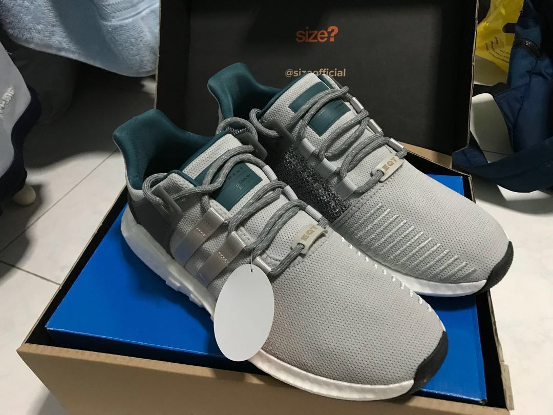sports shoes aecca 0659f Adidas EQT Support 9317 Boost Welding Pack Grey Gray UK 9  US 9.5, Mens  Fashion, Footwear, Sneakers on Carousell