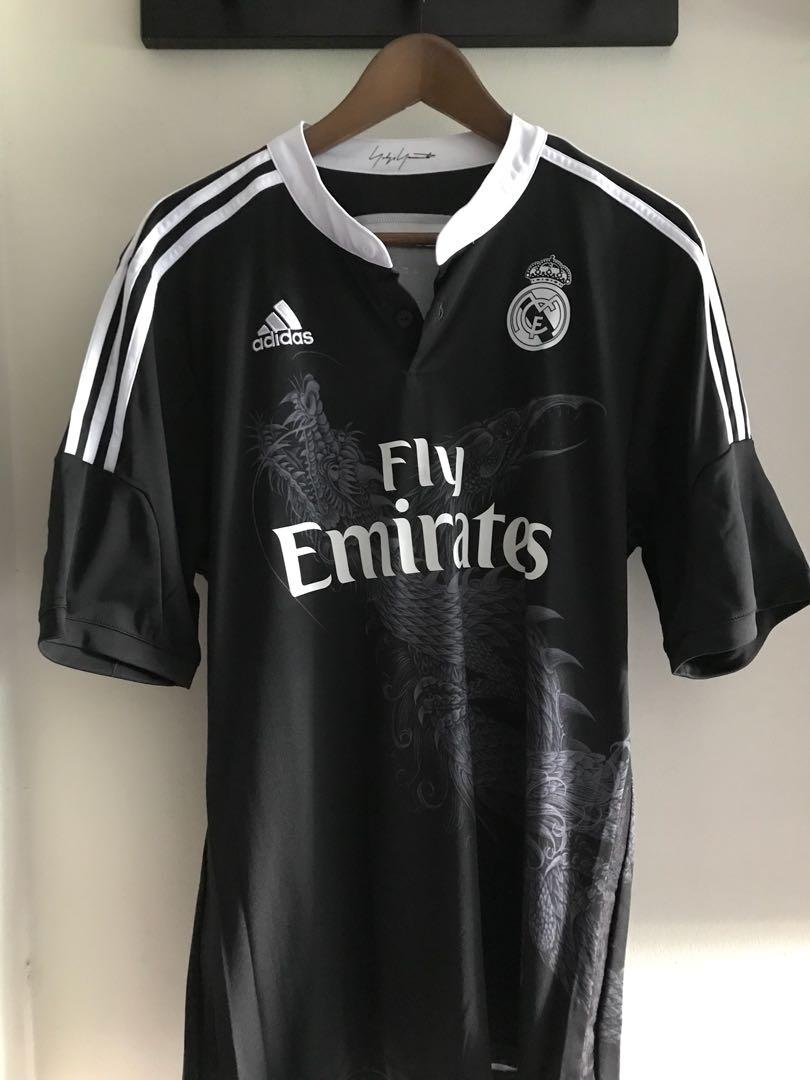 e40498d09514 Adidas x Yohji Yamamoto Real Madrid Jersey (L)