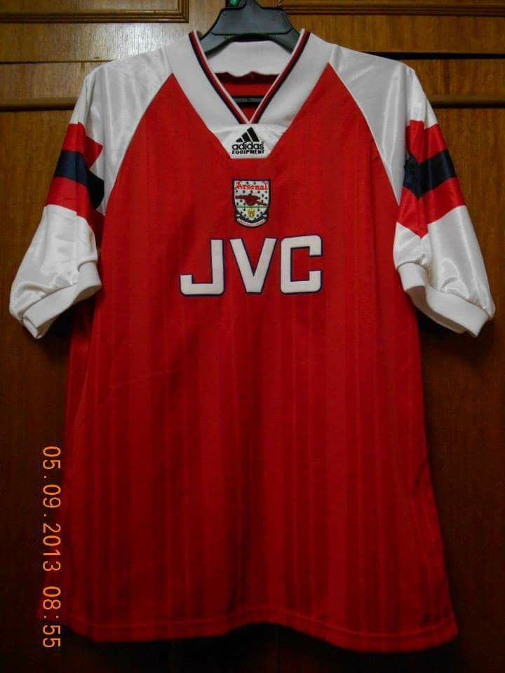 8e8e6aa3ea3 Arsenal 92-94 reserved matchworn no12