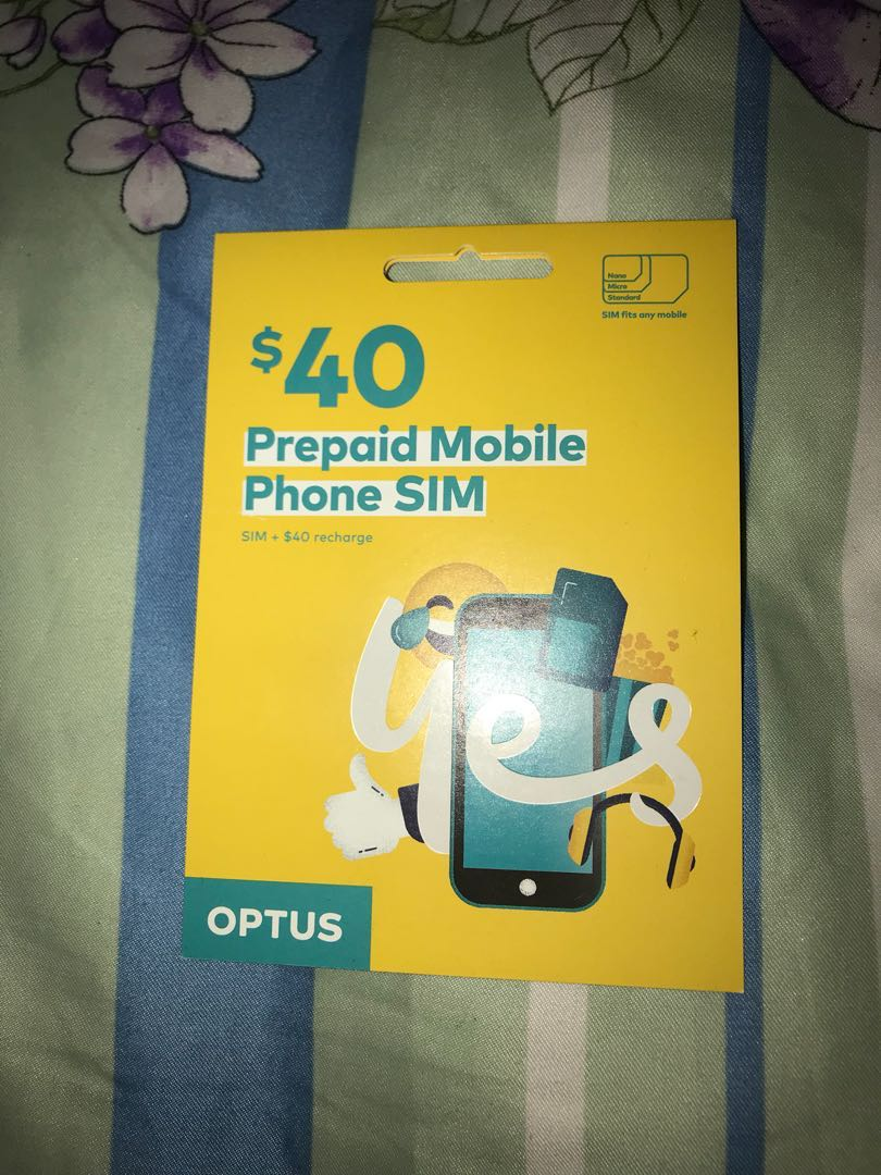 Australian Optus SIM Card