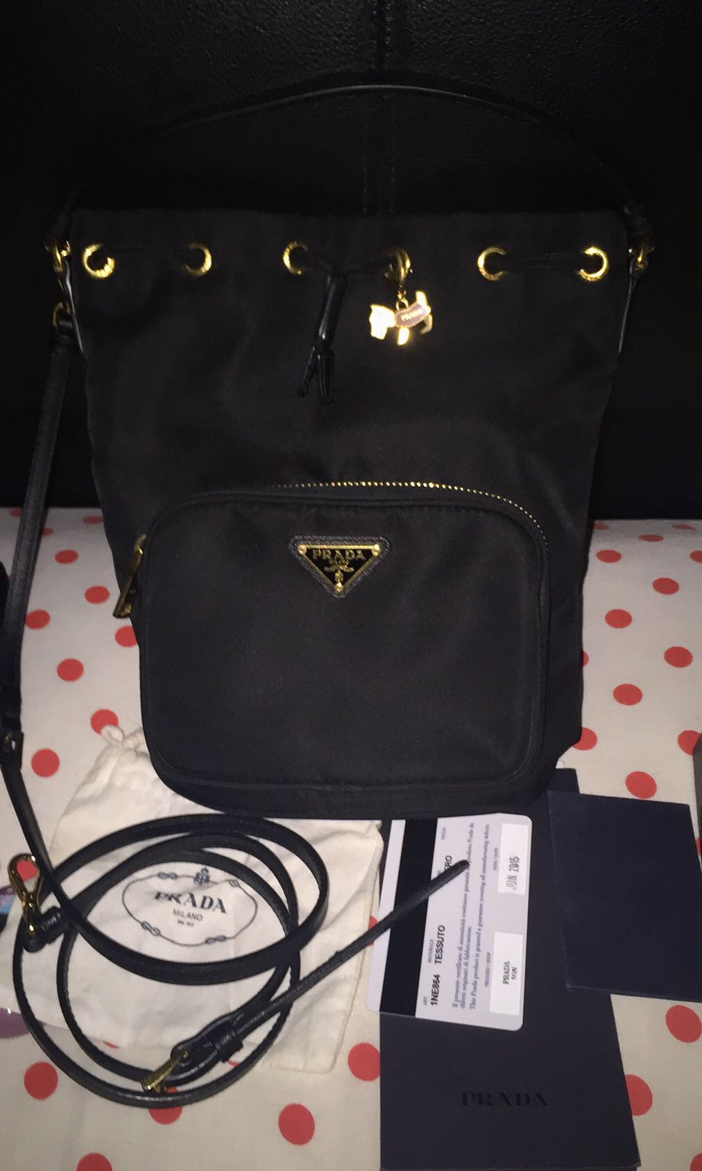 2eb1ff41be55bf Authentic Prada brand new limited edition sling bag, Luxury, Bags ...