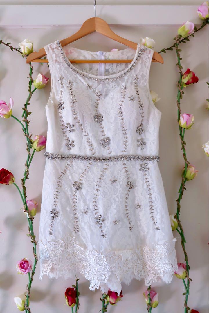 Beautiful jewelled dress