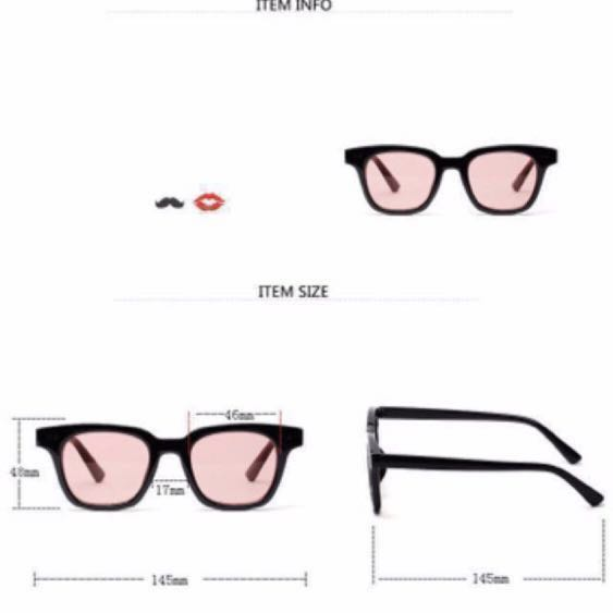 5ee884a291c0 BN Korean Gentle Monster Inspired Tinted   Colored Lens Sunglasses ...