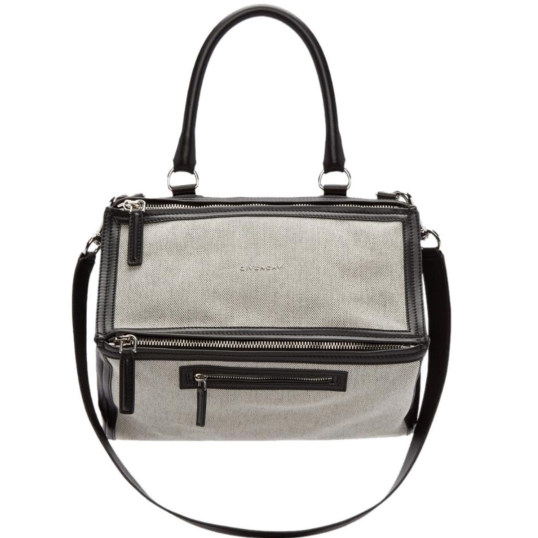 f728ab43f5 BNWT   2800+ GIVENCHY Medium Pandora Bag in Black Leather   Off ...