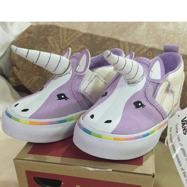 84b2c66606bc11 Source · Brand New in Box Vans Toddler Unicorn Shoes US 5 5 Babies   Kids