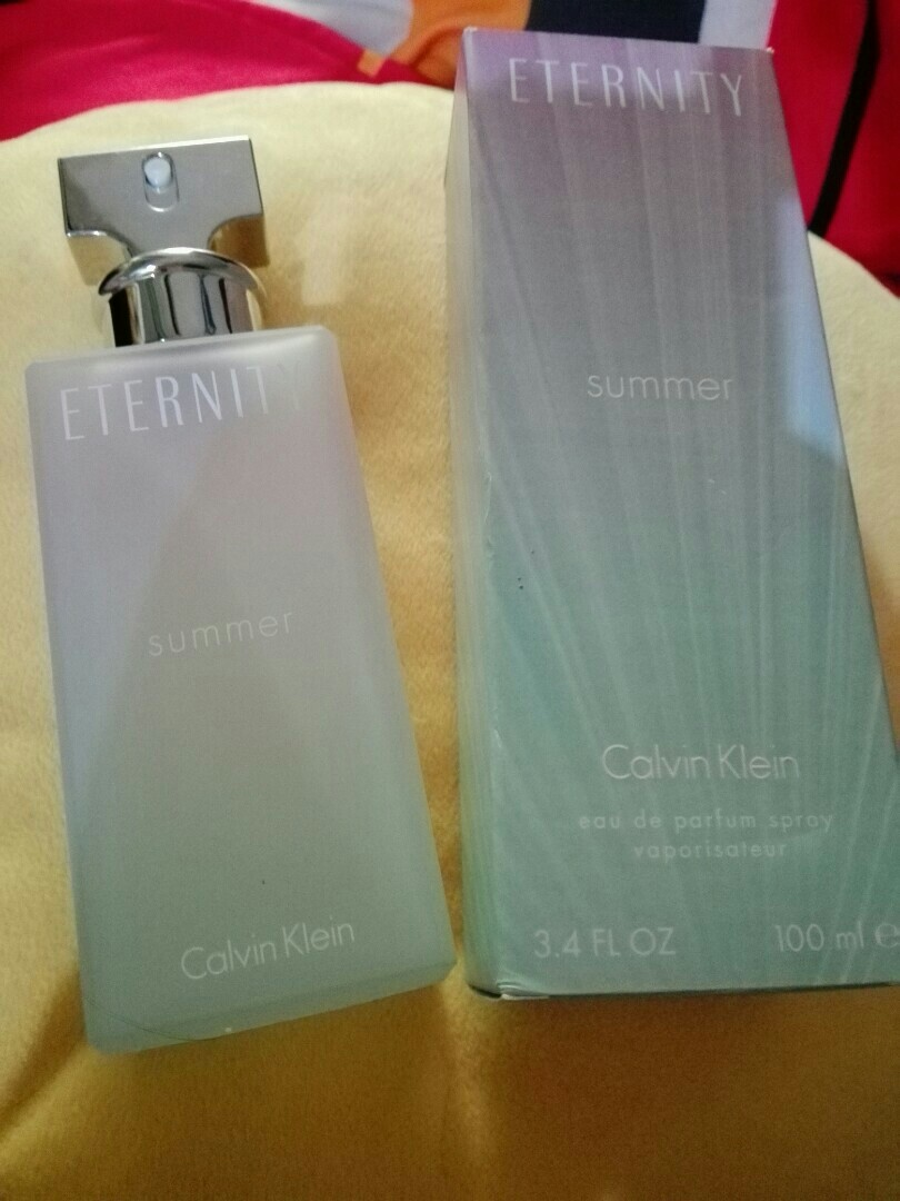 Calvin Klein Eternity Summer Women 100ml Health Beauty Perfumes