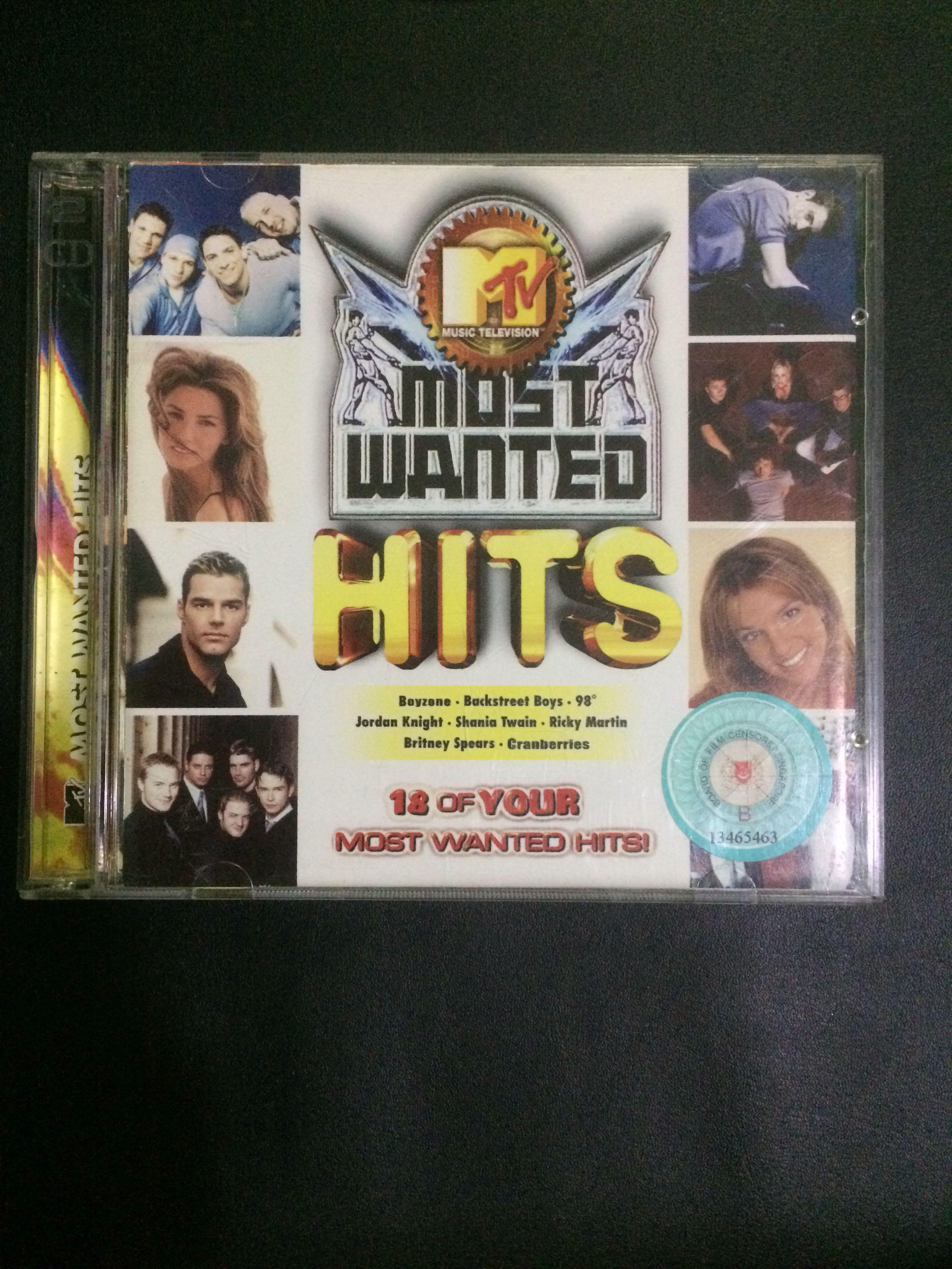 Cd 91 MTV most wanted , Vintage & Collectibles on Carousell