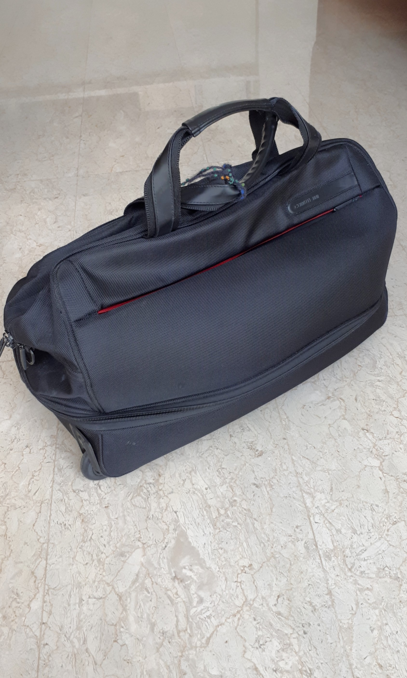 44bc615060 Cerruti 1881 travel cabin bag, Travel, Travel Essentials, Luggage on  Carousell