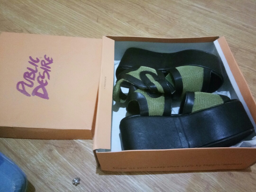 8cc61b60a48fab Chunky Sandals Sold by Zalora