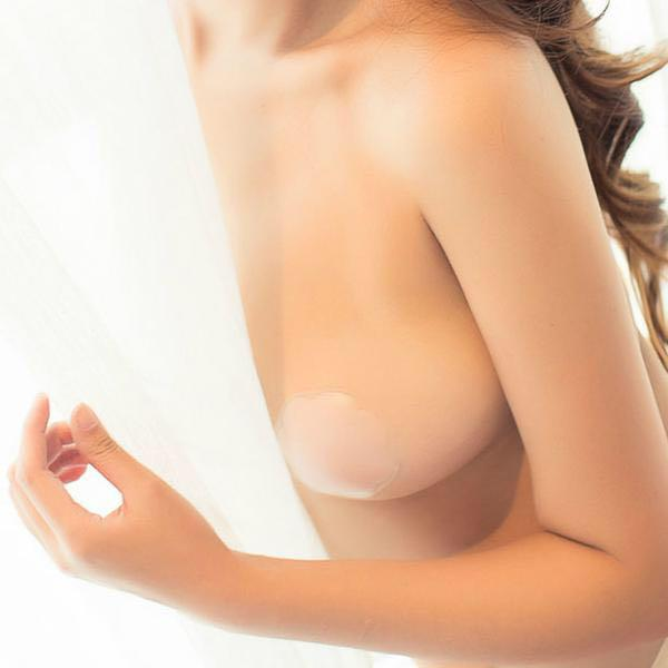 CLEARANCE SALE! Reusable seamless adhesive silicone nipple stickers / pasties
