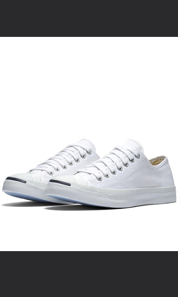 917af94ce23d Converse Jack Purcell White Leather Sneakers