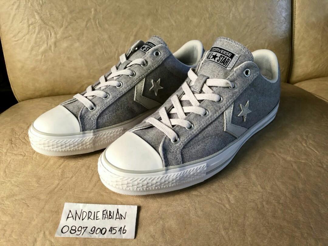 9c8a4ddee08363 Converse Star Player Wolf Grey