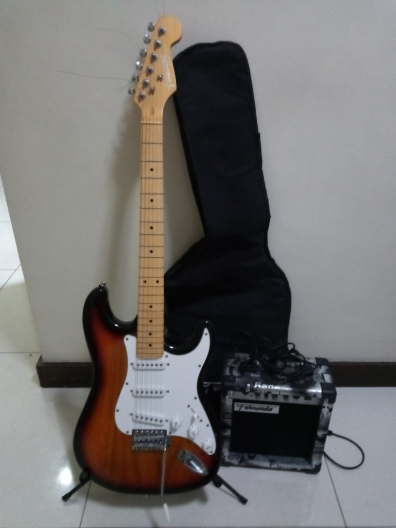 Fernando Electric Guitar Package Music Media Music Instruments