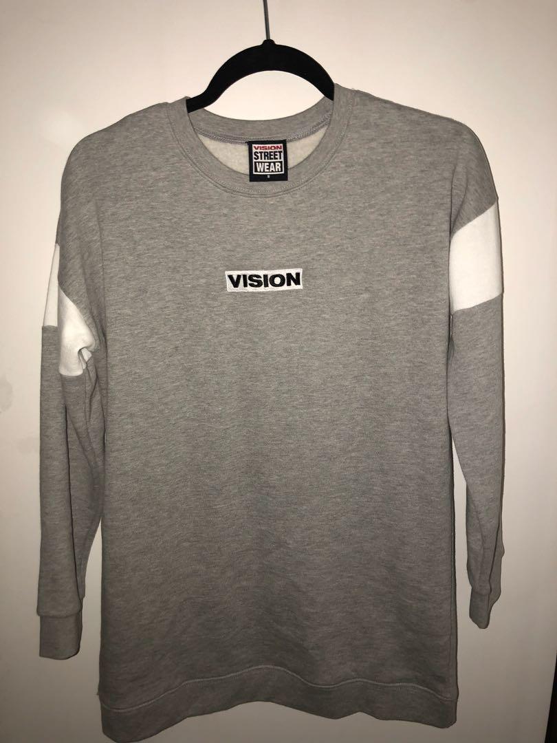 Grey Vision Jumper