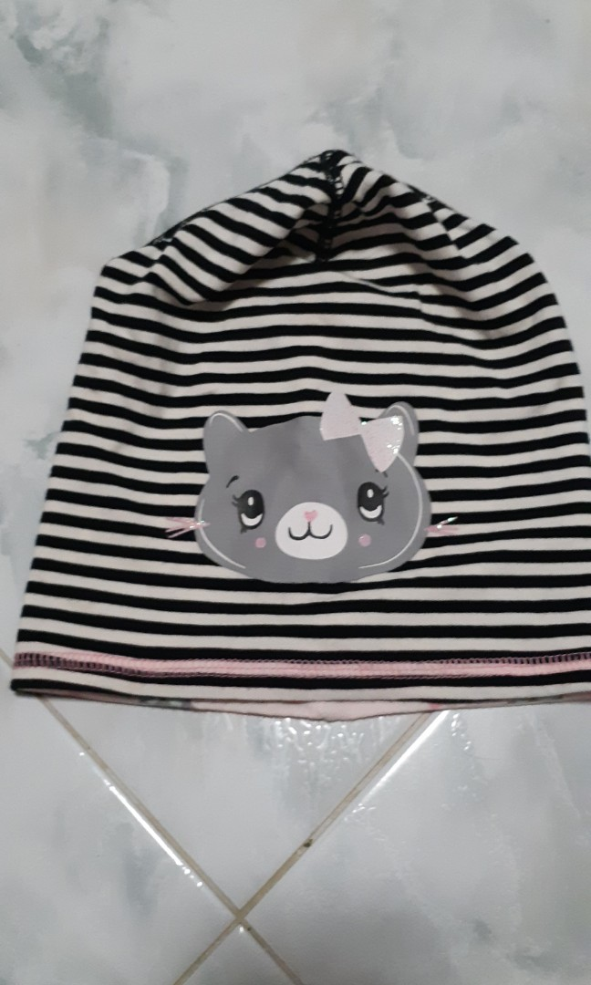 h & m baby beanie us 6 to 12mths, babies & kids, babies apparel on